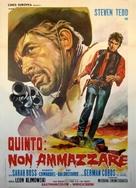 Quinto: non ammazzare - Italian Movie Poster (xs thumbnail)