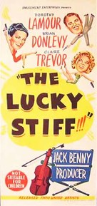 The Lucky Stiff - Australian Movie Poster (xs thumbnail)