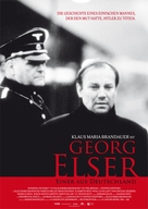 Georg Elser - Einer aus Deutschland - German Movie Poster (xs thumbnail)