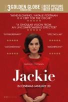 Jackie - British Movie Poster (xs thumbnail)