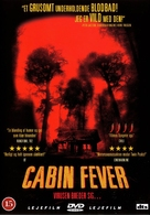 Cabin Fever - Danish DVD movie cover (xs thumbnail)
