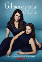 Gilmore Girls: A Year in the Life - German Movie Poster (xs thumbnail)