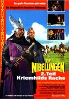 Die Nibelungen, Teil 2 - Kriemhilds Rache - German Movie Poster (xs thumbnail)