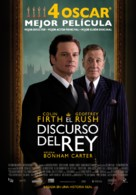 The King's Speech - Spanish Movie Poster (xs thumbnail)