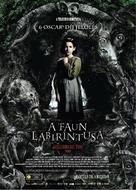 El laberinto del fauno - Hungarian Movie Poster (xs thumbnail)