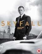 Skyfall - British Blu-Ray movie cover (xs thumbnail)