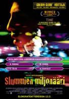 Slumdog Millionaire - Finnish Movie Poster (xs thumbnail)