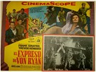 Von Ryan's Express - Mexican Movie Poster (xs thumbnail)