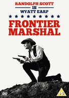 Frontier Marshal - British DVD movie cover (xs thumbnail)