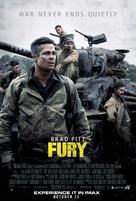 Fury - Lebanese Movie Poster (xs thumbnail)