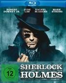 Sherlock Holmes - German Blu-Ray cover (xs thumbnail)