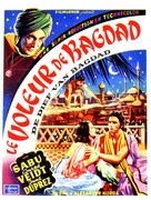 The Thief of Bagdad - Belgian Movie Poster (xs thumbnail)