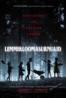 Pet Sematary - Estonian Movie Poster (xs thumbnail)