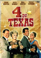 4 for Texas - French DVD movie cover (xs thumbnail)