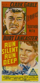 Run Silent Run Deep - Australian Movie Poster (xs thumbnail)