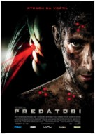 Predators - Slovak Movie Poster (xs thumbnail)