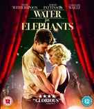 Water for Elephants - British Blu-Ray cover (xs thumbnail)