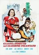 Jack and the Beanstalk - Italian Movie Poster (xs thumbnail)