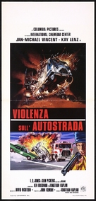 White Line Fever - Italian Movie Poster (xs thumbnail)