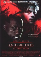 Blade - Danish Movie Poster (xs thumbnail)