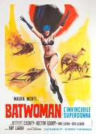 Mujer murciélago, La - Italian Movie Poster (xs thumbnail)