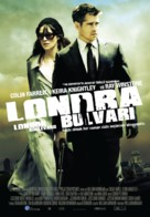London Boulevard - Turkish Movie Poster (xs thumbnail)