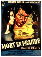 Mort en fraude - French Movie Poster (xs thumbnail)