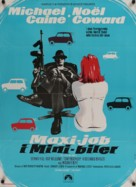 The Italian Job - Danish Movie Poster (xs thumbnail)