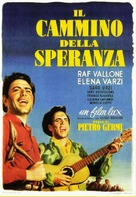 Cammino della speranza, Il - Italian Movie Poster (xs thumbnail)