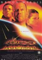 Armageddon - Spanish Movie Poster (xs thumbnail)