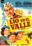 Trouble in the Glen - Spanish Movie Poster (xs thumbnail)
