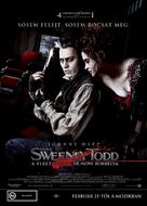 Sweeney Todd: The Demon Barber of Fleet Street - Hungarian Movie Poster (xs thumbnail)