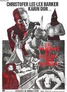 Die Schlangengrube und das Pendel - French Movie Poster (xs thumbnail)