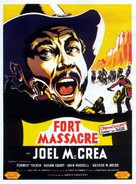 Fort Massacre - French Movie Poster (xs thumbnail)