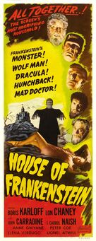 House of Frankenstein - Re-release poster (xs thumbnail)