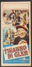 Trouble in the Glen - Italian Movie Poster (xs thumbnail)