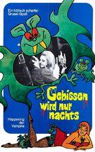 Gebissen wird nur nachts - German Movie Poster (xs thumbnail)