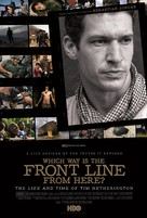 Which Way Is the Front Line from Here? The Life and Time of Tim Hetherington - Movie Poster (xs thumbnail)