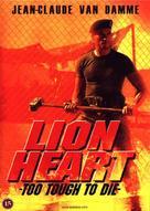 Lionheart - Danish DVD cover (xs thumbnail)