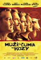 The Men Who Stare at Goats - Slovak Movie Poster (xs thumbnail)