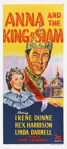 Anna and the King of Siam - Australian Movie Poster (xs thumbnail)