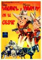 Way Out West - Spanish Movie Poster (xs thumbnail)