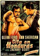 Appointment in Honduras - Spanish Movie Poster (xs thumbnail)