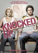 Knocked Up - Danish Movie Poster (xs thumbnail)