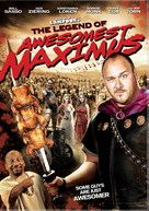 The Legend of Awesomest Maximus - Canadian DVD cover (xs thumbnail)