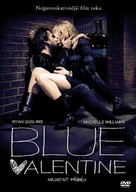 Blue Valentine - Czech DVD cover (xs thumbnail)