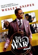 The Art of War II: Betrayal - German Movie Poster (xs thumbnail)