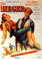 The Quiet Man - German Movie Poster (xs thumbnail)