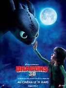 How to Train Your Dragon - French Movie Poster (xs thumbnail)