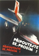 Airplane! - Czech Movie Poster (xs thumbnail)